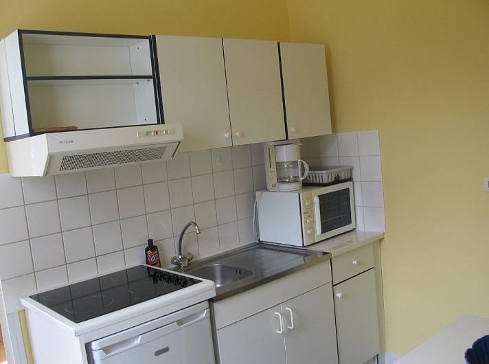Cuisine équipée du logement étudiant